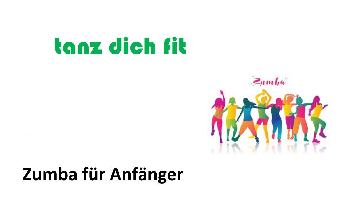 """tanz dich fit – Zumba für Einsteiger ab """"Januar 2019"""""""