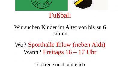 Lust auf Fussball…..auf zur G-Jugend !!!