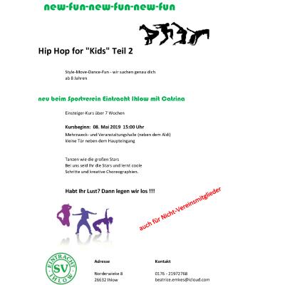 Hip Hop for Kids – Teil 2